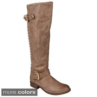 Steve Madden Women's 'Lynet' Studded Buckle Detail Boots