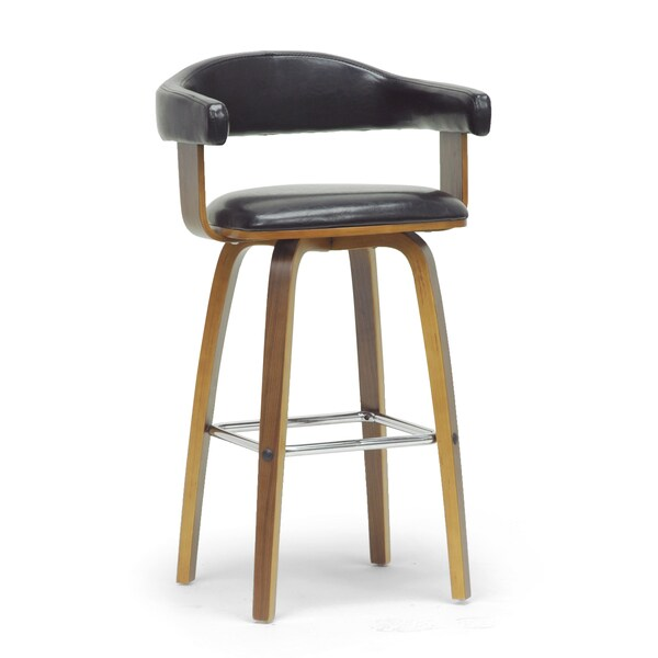 Modern Brown and Black 24 32quot Adjustable Bar Stool by  : Baxton Studio Quigley Walnut and Black Modern Counter Stool edaef0d3 ca24 465b adb0 ef2bc142e4ae600 from www.overstock.com size 600 x 600 jpeg 15kB