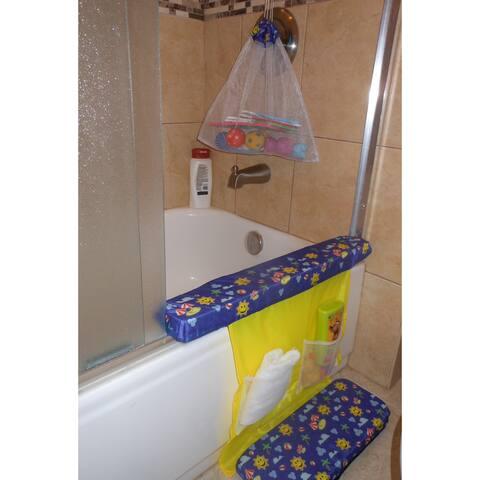 Baby 3-piece Bath Tub Bath Set - Blue