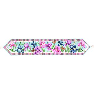 Floral Rainbow 72-inch Table Runner