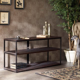 Renate Media Console Coffee Finish