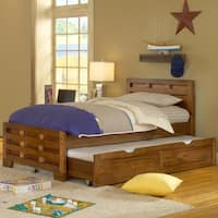 Hardy Twin Bed with Trundle Storage by Greyson Living
