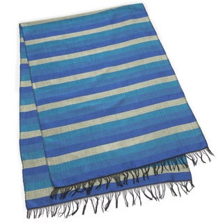 Indigo Gold Table Runner (Morocco)