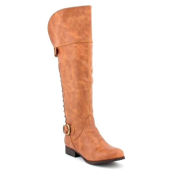Not Rated Women's 'Frontline' Synthetic Brown Boots