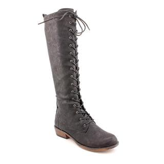 Dirty Laundry Women's 'Pride and Joy' Black Faux Leather Boots