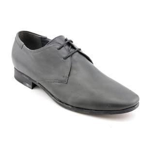 Steve Madden Men's 'Gorrdon' Gray Leather Dress Shoes