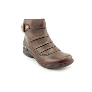 Clarks Women's 'Christine Club' Brown Leather Boots
