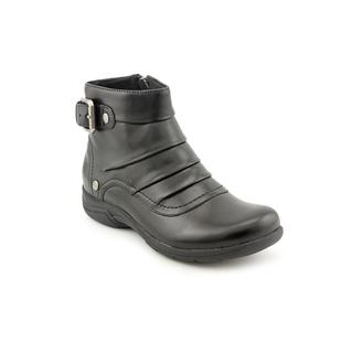 Clarks Women's 'Christine Club' Black Leather Boots