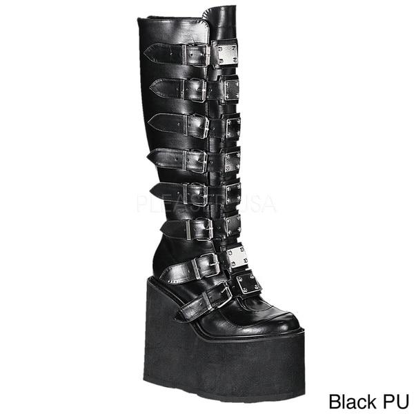Demonia Swing-815 Women's Knee High Boots