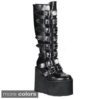Demonia Swing-815 Women's Knee High Boots