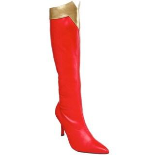 Funtasma 'Wonder-130' Women's Super Hero Knee High Boots