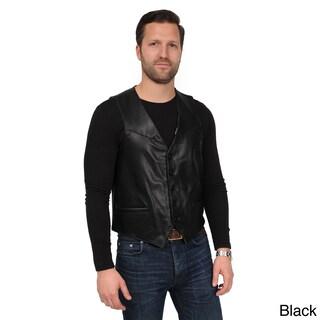 EXcelled Men's Leather Vest