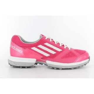 Adidas Women's Adizero Sport Joy Pink/ White Golf Shoes
