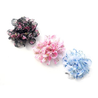 Flowing Flower Clip