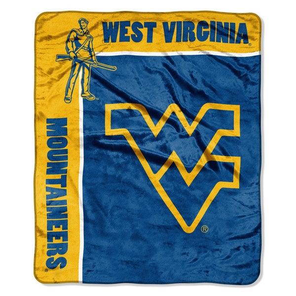 NCAA Raschel West Virginia University Mountaineers School Spirit Throw