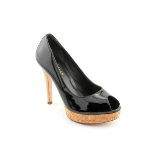 Cole Haan Women's 'Mariela Air.OT.Pump' Black Patent Leather Heels