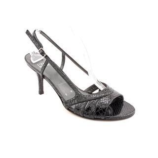 Stuart Weitzman Women's 'Snakemischievous' Synthetic Slingback Dress Shoes