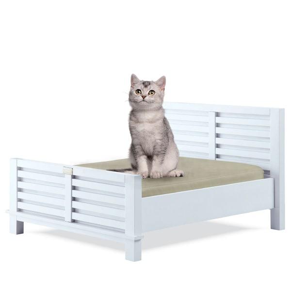 Classic Paws Dakota Wood Frame Pet Bed