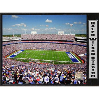 NFL Buffalo Bills Ralph Wilson Stadium Plaque