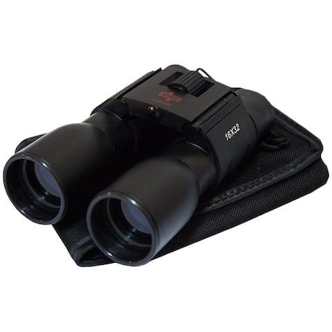 Defender Blue Coated 16X32 Black Plastic Binocular