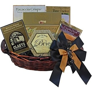 Classic Gourmet Food Gift Basket, Small (2 options available)