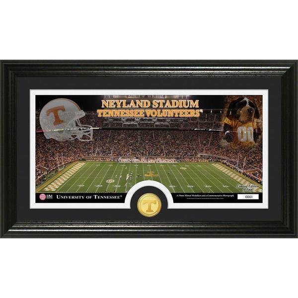 University of Tennessee Stadium Bronze Coin Panoramic Photo