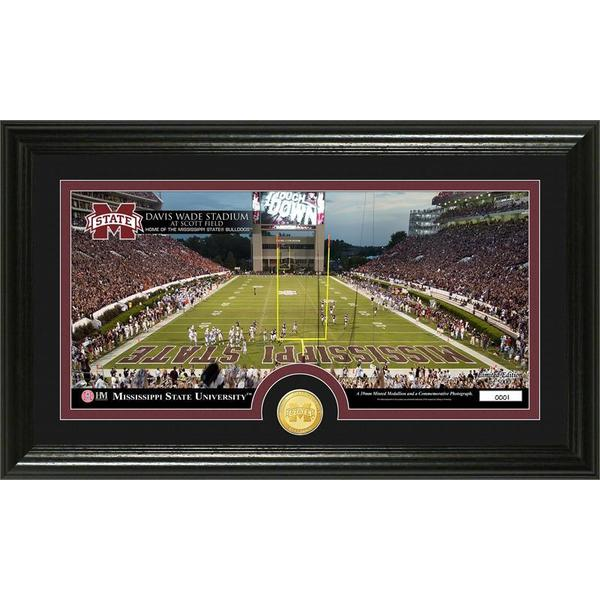 University of Mississippi Stadium Minted Coin Panoramic Photo