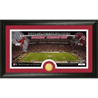 University of Alabama 'Stadium' Bronze Coin Panoramic Photo Mint