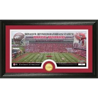 "University of Arkansas ""Stadium"" Bronze Coin Panoramic Photo Mint"