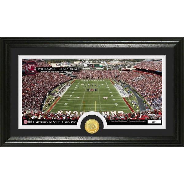 University of South Carolina 'Stadium' Bronze Coin Panoramic Photo Mint