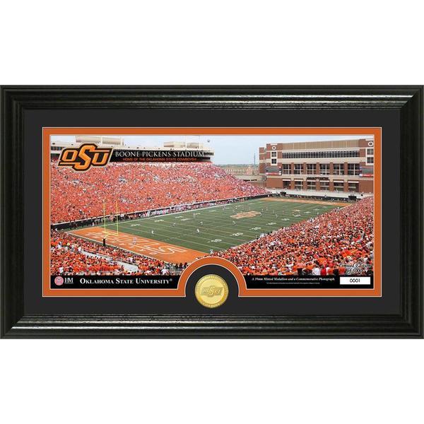 Oklahoma State University 'Stadium' Bronze Coin Panoramic Photo Mint