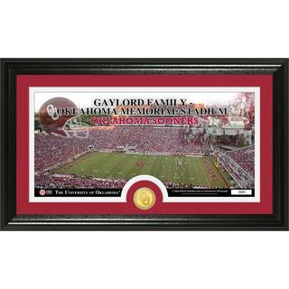 University of Oklahoma 'Stadium' Bronze Coin Panoramic Photo Mint