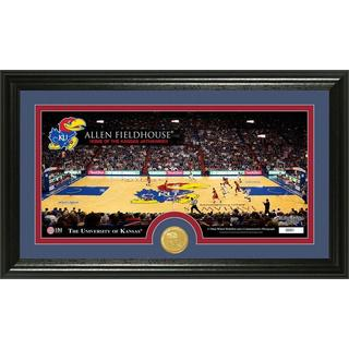 University of Kansas Court Bronze Coin Panoramic Photo