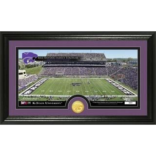 Kansas State University 'Stadium' Bronze Coin Panoramic Photo Mint