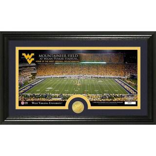 West Virginia University 'Stadium' Bronze Coin Panoramic Photo Mint