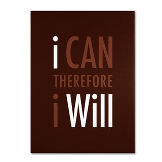 Megan Romo 'I Will II' Canvas Art
