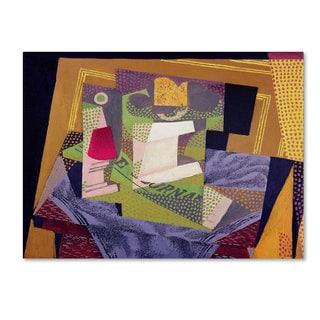 Juan Gris 'Composition on a Table 1916' Canvas Art