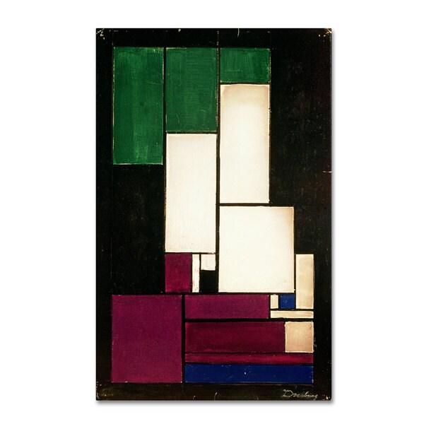 Theo van Doesburg 'Composition 1922' Canvas Art