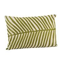 Palm Design Throw Pillow
