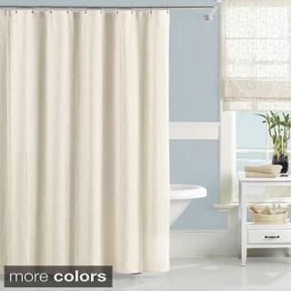 Luxury Matelasse Nepal Bamboo Pattern Shower Curtain