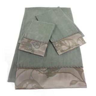Sherry Kline Paradisio Embellished 3-piece Towel Set