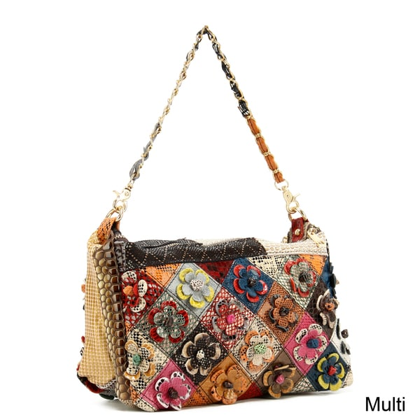 Ann Creek Women's 'Lainey' Patchwork Bag