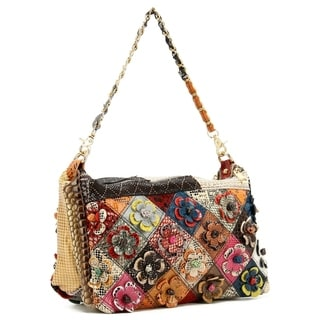 Ann Creek Women's 'Lainey' Patchwork Bag