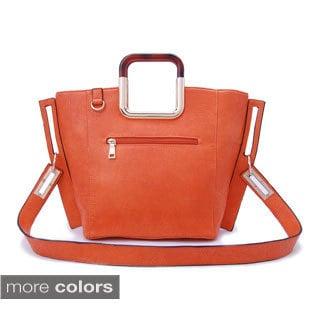DimeCity Women's 'Square Eye' Tote Bag