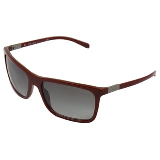 Prada Men's Bordeaux/ Grey Sunglasses
