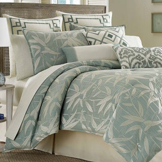 Shop Tommy Bahama Bamboo Print Breeze 4 Piece Comforter
