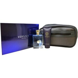 Versace 'Pour Homme' Men's 3-piece Gift Set