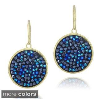 Crystal Ice Goldtone Crystal Earrings
