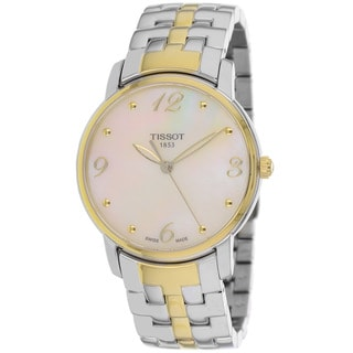 Tissot Women's T0522102211700 Two-Tone Stainless Steel Round Dial Watch
