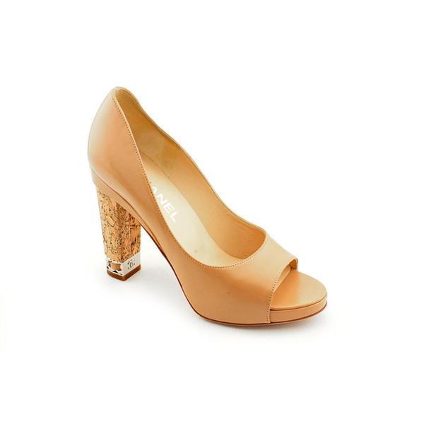 Shop Chanel Women s  Chaus Ouver  Leather Dress Shoes (Size 7 ... 5c4d5de269